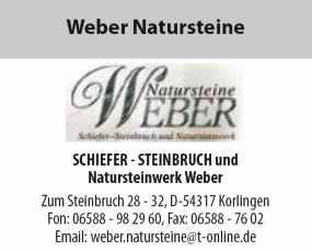 WeberNatursteine